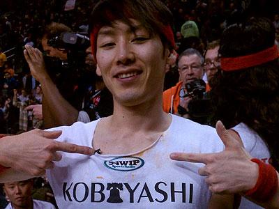 Kobayashi is the guy