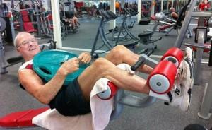 old guys gym