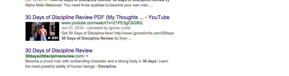 different media serps