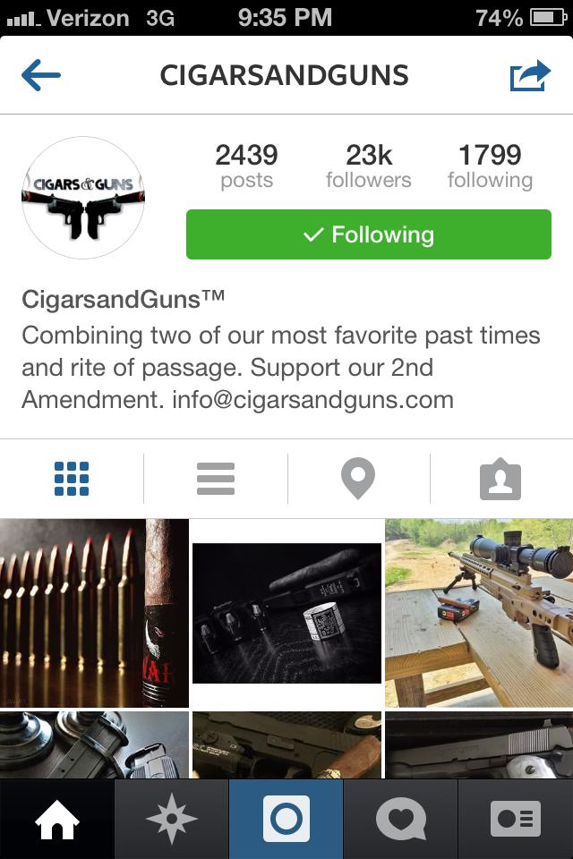 cigars and guns