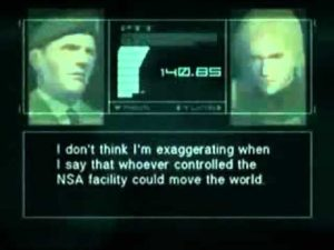 metal gear trump